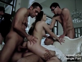 Swinger & Hotwife Couples Sex Party