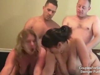 Swinger Couples Swapping Pussy