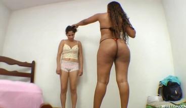 Cruel Interracial Face Fuck - Ebony babe Tiffany and Big Ass