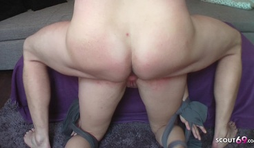 Redhead German Mother Made to Slave and Fuck By Step Son