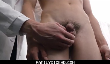 Cute Young Twink Stepson Doctor Visit Threesome With Stepdad