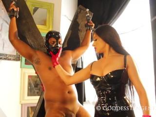 hot ballbusting slave
