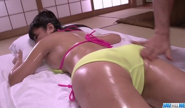 Sexual fantasy with a busty Japanese bea - More at javhd net