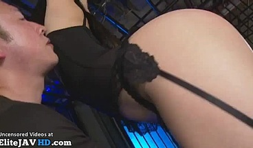 Japanese rough bondage sex with beauty in stockings