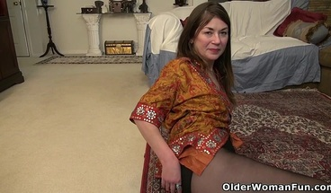 An older woman means a lot of naughty fun part 287
