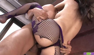 Fishnet nudity and hardcore glory for yo - More at 69avs com