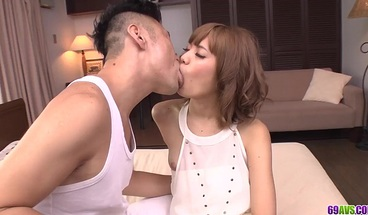 Kana Aono fucked in doggy and jizzed wit - More at 69avs com