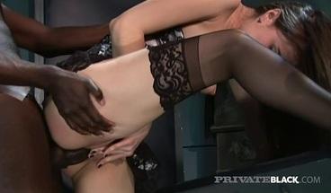 PrivateBlack - Cock Lover Sasha Grey Dark Dicked & Cummed On!