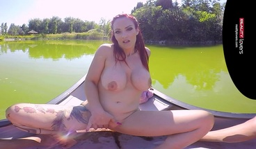 RealityLovers - Outdoor Holiday VR Sex with Redhead MILF Mary
