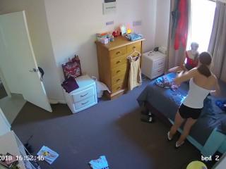 Hidden Cam Two Sexy Teen Bedroom