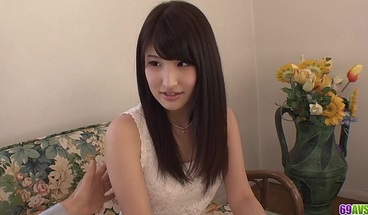 Amateur sex at home with sweet Saki Koba - More at 69avs com