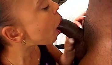 Curvy ebony beauty is facialized after fuck with big cock