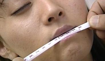 Saki Shiina has hairy cunt measured and s More at hotajp com