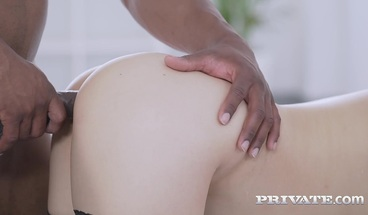 Private-com - Sweet Asian Katana Gets Big Black Cock & Cums!