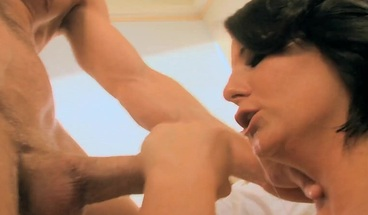 Young brunette Casey Cumz fucked on her nice pussy