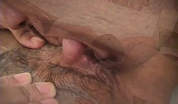 Brunette slut with a huge ass rides his cock