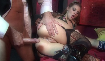 Hot Blonde Milfs Gang Bang by Hard Cocks and Enjoy Fuck Party