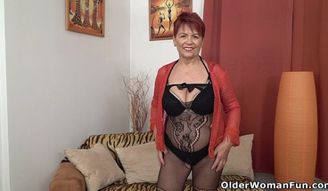 Granny Tarra and her old pussy still give lots of pleasure