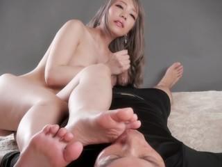 Legs Japan - Handjob Foot Smothering