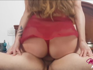 Riding his Dick Like a Pro - Hottest Amateur Cowgirl Compilation -MiaQueen