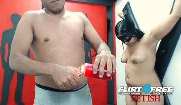 Kinky Flirt4Free BDSM Couple Bonds Over Wax Torture