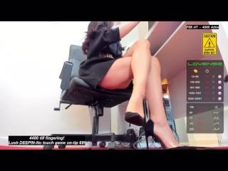 No Panties Upskirt High Heels Shapely Legs You Gonna Cum For Me