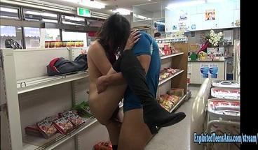 Jav Amateur Mizuki Fucks In Public Convenience Store