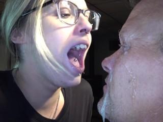 spitting girls, spit fetish total domination!!