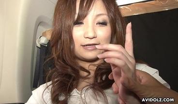 Japanese escort lady, Rui Yazawa sucks dick, uncensored