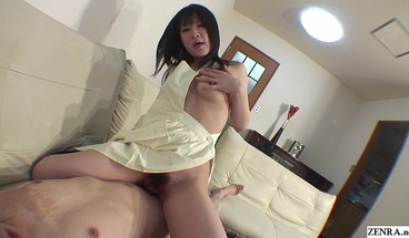 Uncensored Japanese naked apron sex in POV Subtitles