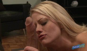 Busty young blonde gets her pussy destroyed by a huge cock