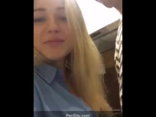 Cute russian teens titties sucked on periscope