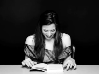 Woman Has Orgasm While Reading Book- Stoya