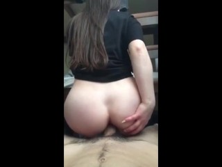 Super Hot Perfect Body Teen Anal Reverse Cowgirl