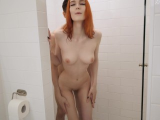 Young Redhead Teen Fucks In Shower And Gets Facial