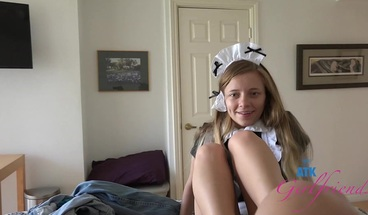 Sexy Maid Riley Star Does Whatever You Want