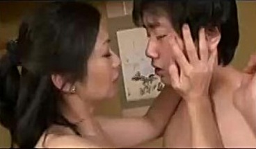 Japonese mom and Stepson 37