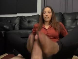 project feet nylon feet soles smelling footjob pantyhose piedi calze sniffing sniffing nylon feet 20