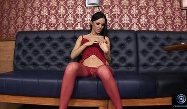 PornStreamLive presents - Brenda Black masturbates and enjoys a variety of toys