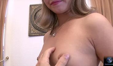 PornStreamLive presents - Olona loves to swallow cum