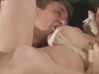 fucked a brunette in sexy stockings