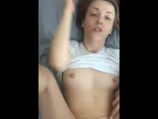 PERFECT TITS BABE GETS A HUGE BBC ON HER PUSSY - SNAPCHAT