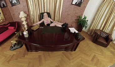 Czech VR 395 - Smoking Hot Boss Babe Fucks to Keep you Quiet