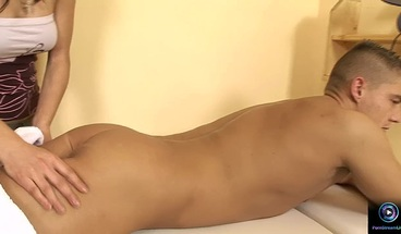 PornStreamLive presents - Szuzi massages Tommy Leo with her pussy