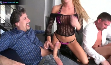 PornStreamLive presents - Amy Brooke can get a little dirty together with Steve Holmes and
