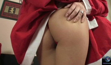 PornStreamLive presents - Eve Angel and Regina Moon have some Christmas time fun