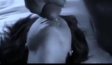Big cock stranger cums on girl's face