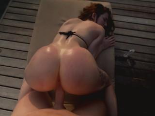 Sweet Pussy Takes Cum Inside Outdoor - Nympho Reislin loves get inside