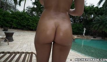 NICHE PARADE - Kira Perez First Interracial Scene!