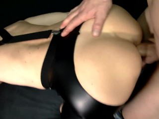 POV Doggystyle Close Up and a Huge Cumshot on Babe Ass